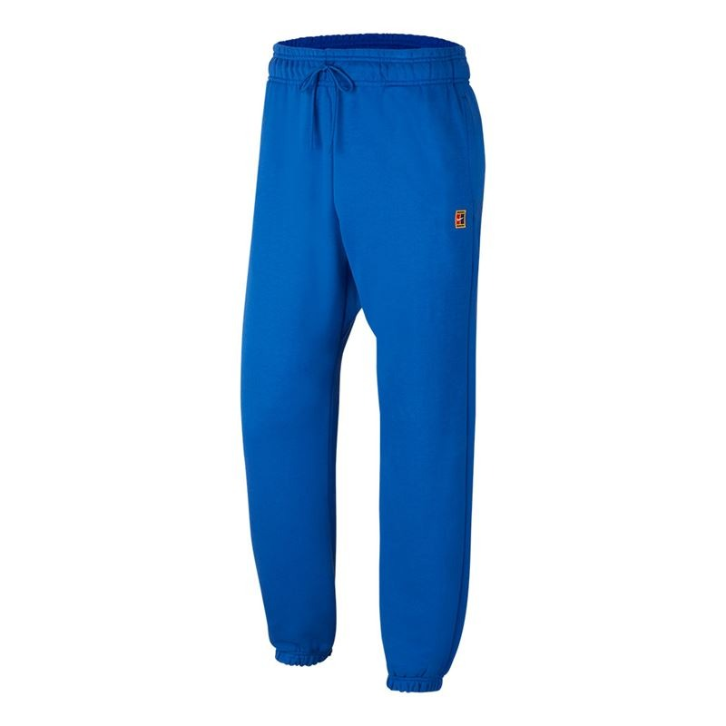 Nike Pant Fleece Blu Uomo
