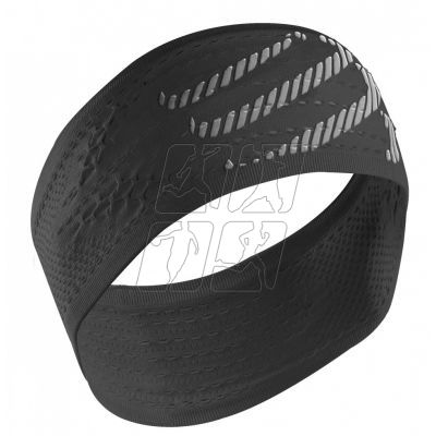 Compressport Headband Nero