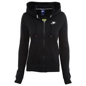 Nike Winter Fleece Hooded Jacket Nero Donna 1