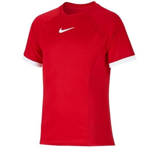 Nike Basic Dry Crew T-Shirt Rosso Bambino