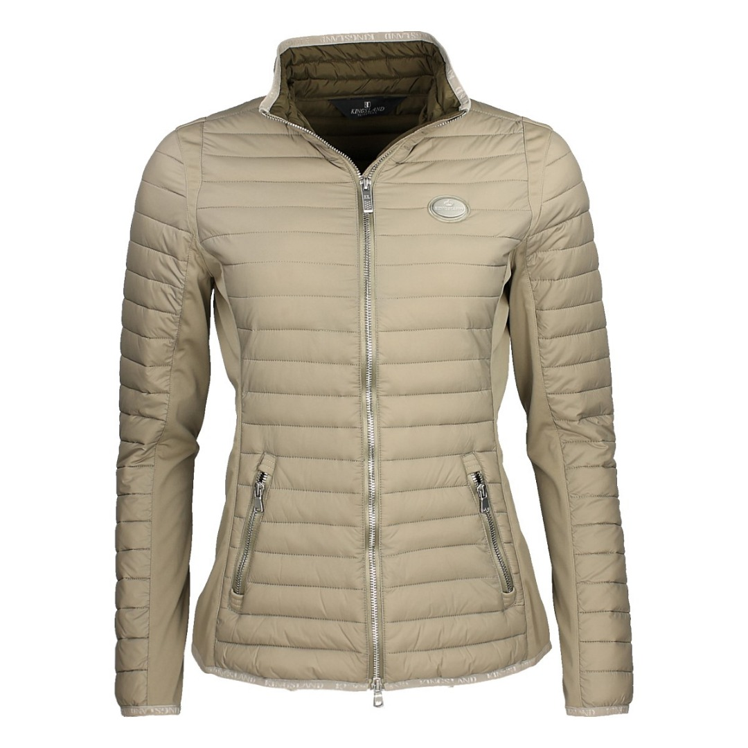 Kingsland Luna Insulated Jacket Beige 1