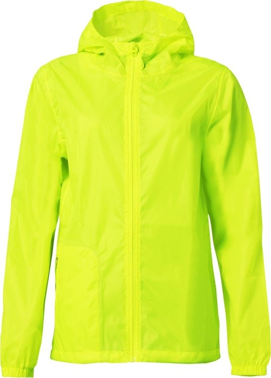 Clique Basic Rain Jacket Vis Yellow
