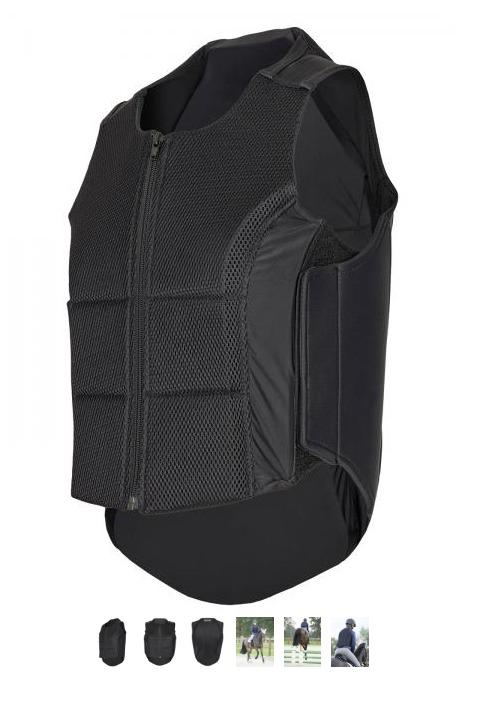 Busse Rückenprotektor Plus schwarz