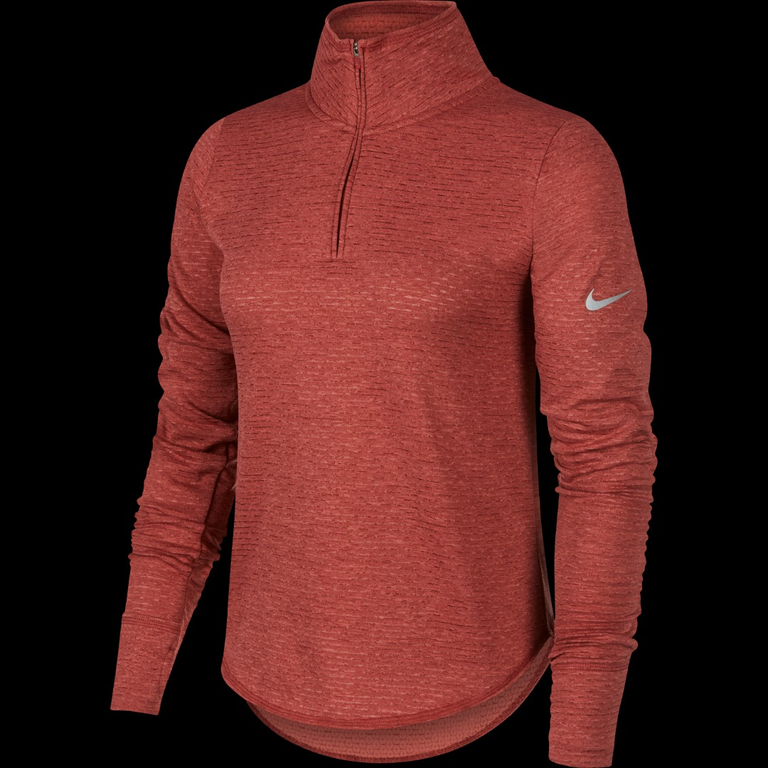 Nike Jacket Element Top Running Redwood Donna