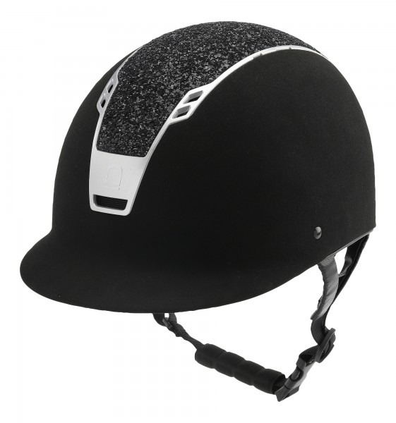 Equipage Reithelm Priority Black-Glitter