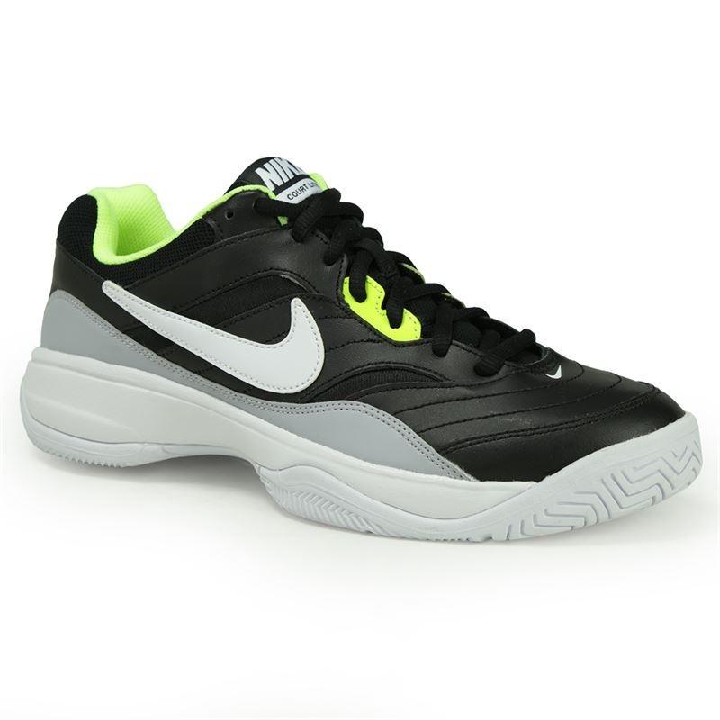 Nike Court Lite Nero Bianco Giallo Uomo