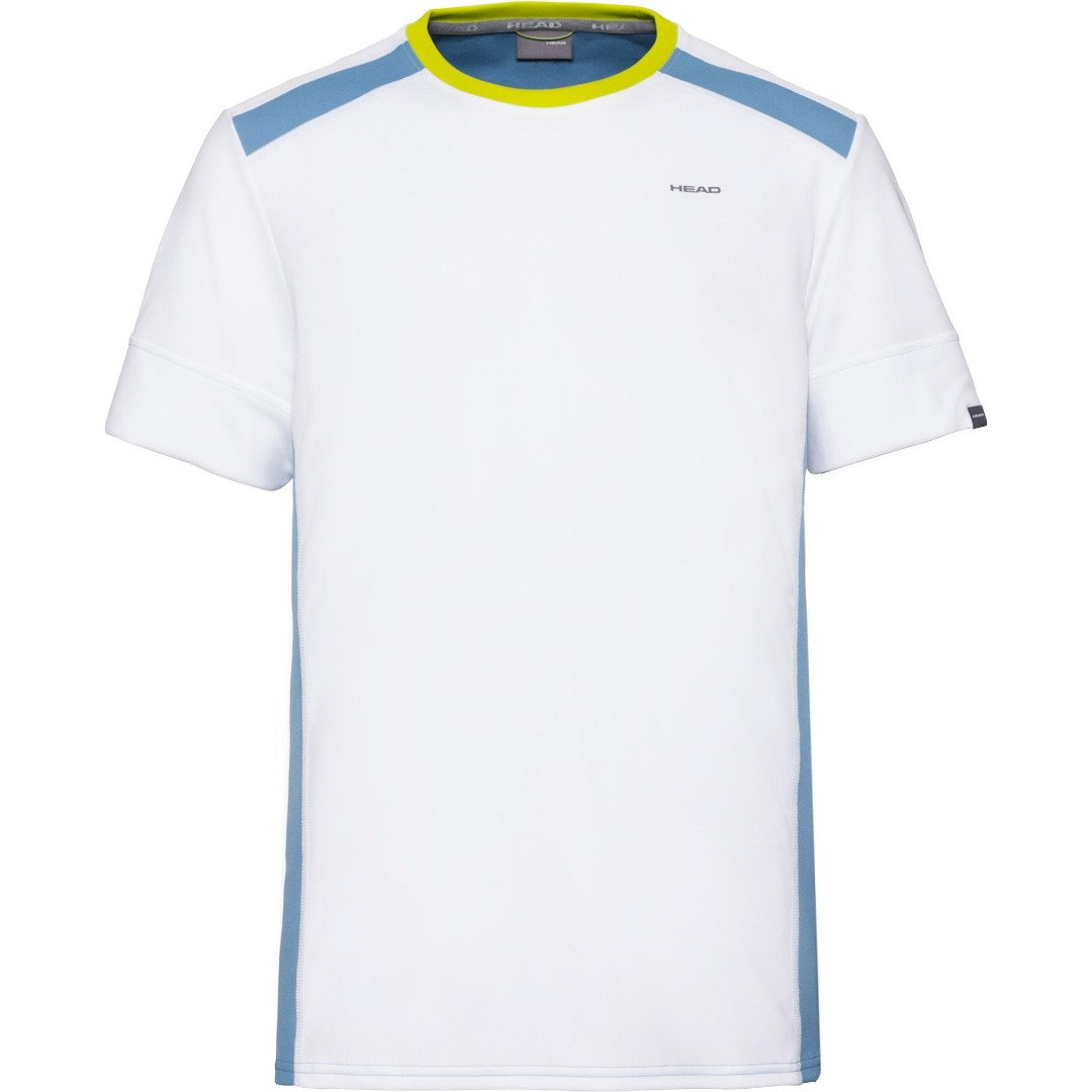 Head UNI T-Shirt Bianco-Azzurro Uomo