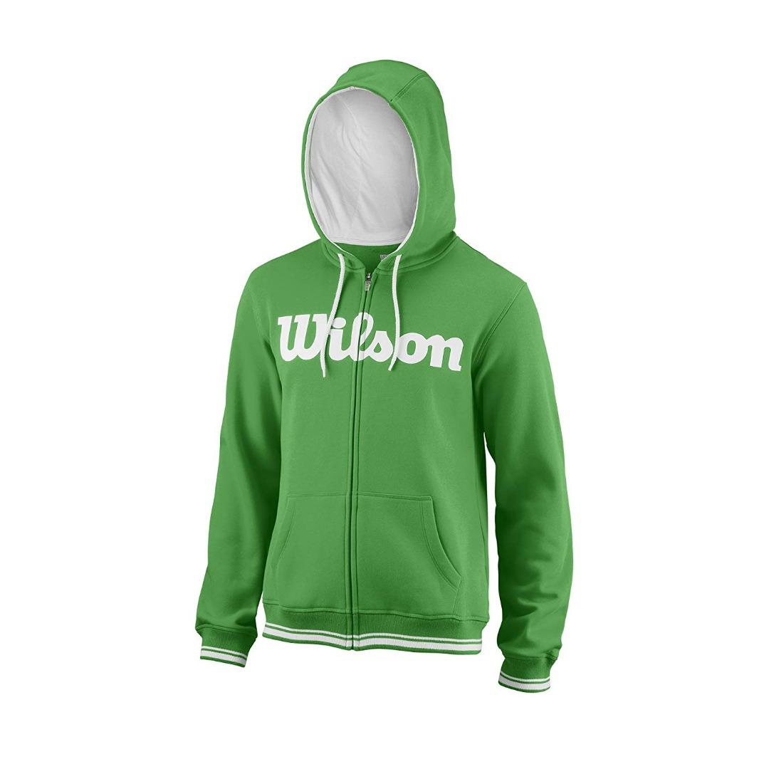 Wilson Team Script FY Hoody Verde Bambino 1