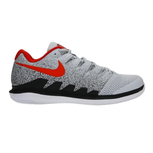 Nike Zoom Vapor X HC Pure Platinum-Habanero-Red Uomo