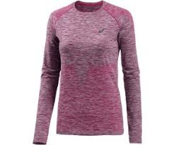 Asics Seamless LS Cosmo Pink Donna