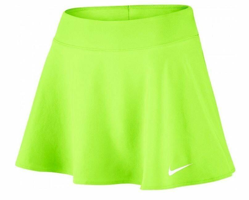 Nike Short Pure Flouncy Lime Donna 1