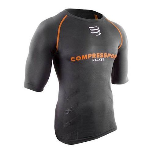 Compressport T-Shirt Compress Racket UW Nero