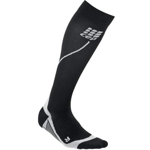 Cep Run Socks Pro Black-Black Uomo