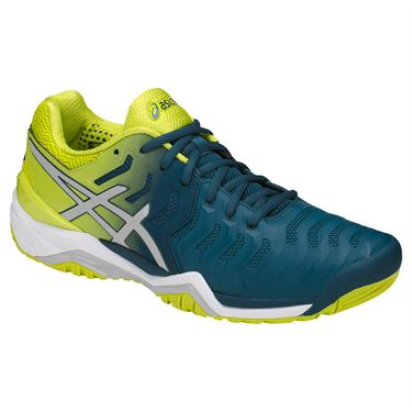 Asics Gel-Resolution 7 Clay Blu-Giallo Uomo